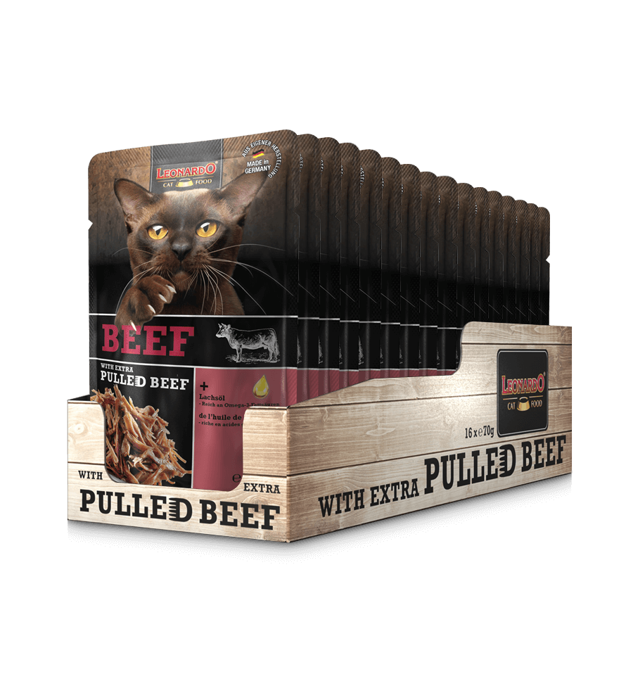 LEONARDO® Beef - Vită + carne de vită fâșii